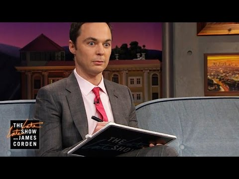 Thumbnail: Jim Parsons Can't Remember Complex Math Equations