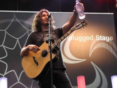 Phil X on Unplugged Stage at musikmesse April 9, 2016