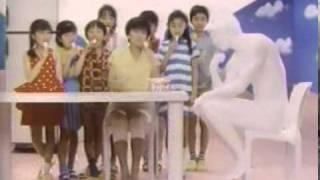 CM GLIGO RINCLE Ikue Sakakibara グリコ リンクル 榊原郁恵.
