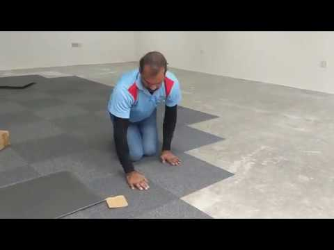 carpet tile installation how to install carpet tile with glue