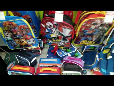 TOYS R US Back Packs 2.48 And Get A 😲FREE😲 Lunch Box.
