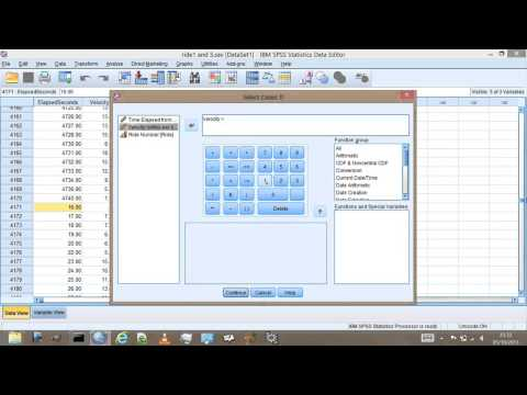 how to interpret mean in spss