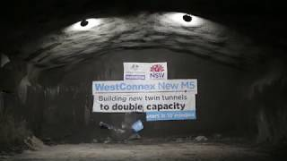 First tunnel breakthrough on New M5