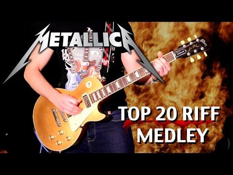 Top 20 Metallica Riffs - Medley