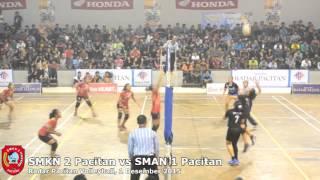 Radar Pacitan Volleyball SMKN 2 Pacitan vs SMAN 1 Pacitan
