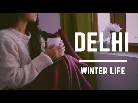 Delhi Winter Life☕️