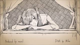 music lyric illustration by merel (メレル) instrumental tracks → ht...