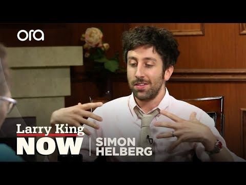 "Simon Helberg on ""Larry King Now"" - Full Episode Available in the U.S. on Ora.TV"