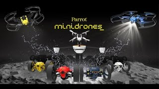 Parrot Minidrones - Fly, Jump & Sail - Official Video (Dec 2015)