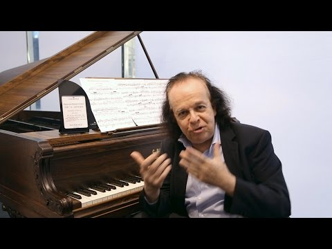 "Cyprien Katsaris talks about C Bechstein and his CD ""Elective Affinities"""