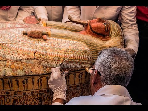 What did Archaeologists uncover from 30 ancient wooden coffins in Egypt? - BBCURDU