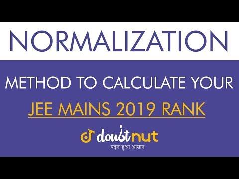 Best Method by NTA to Calculate Rank in JEE Main 2019   Percentile Method
