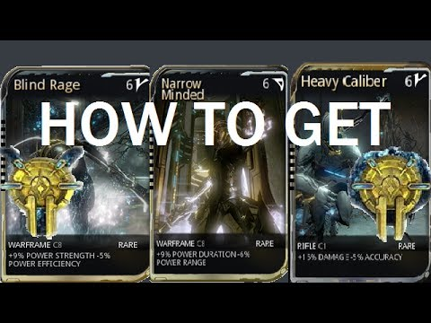 Warframe How To Get Corrupted Mods Orokin Vaults Youtube