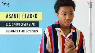 Asante Blackk Cover Shoot - Behind the Scenes