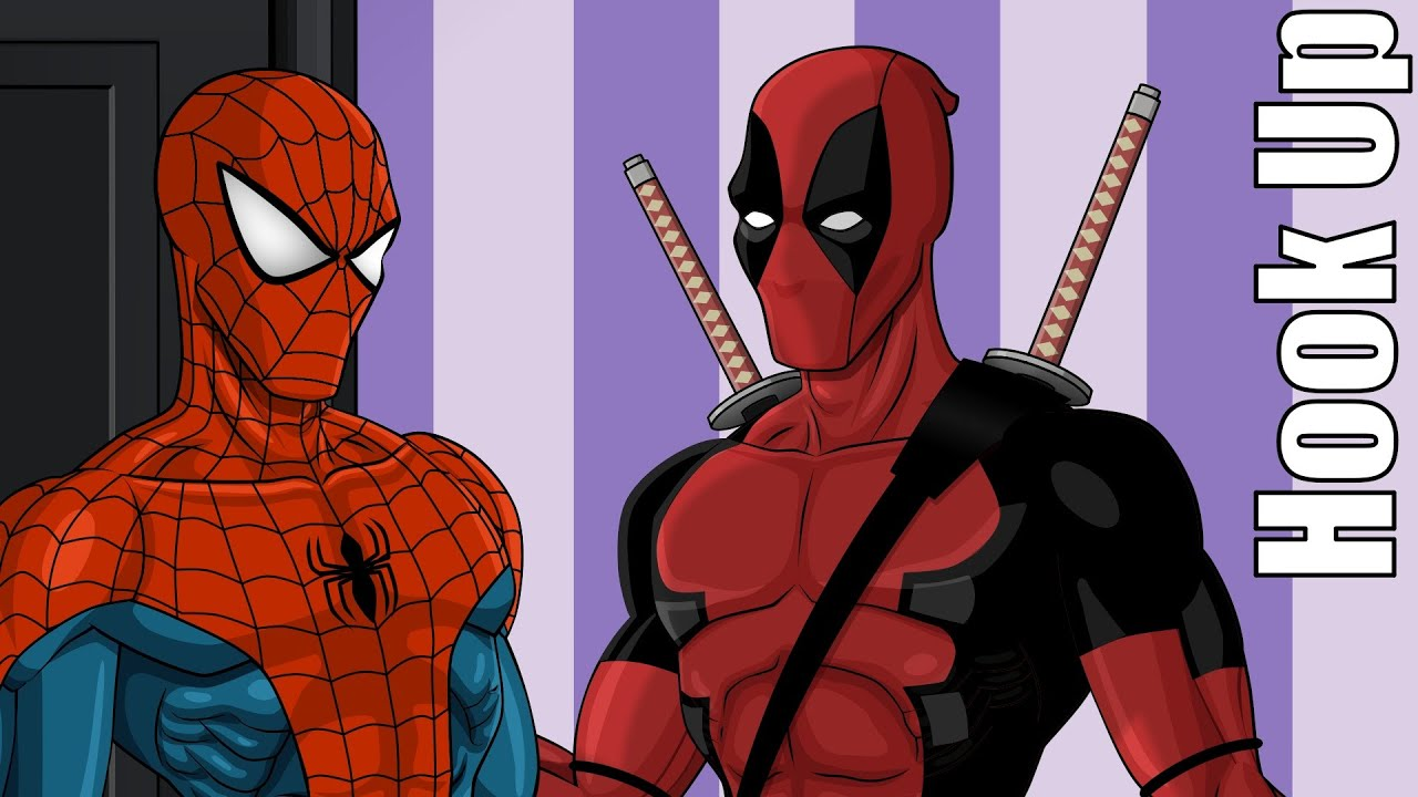 Cartoon Hook Ups: Deadpool And Spider Man   YouTube