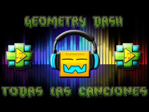 TODAS LAS CANCIONES DE GEOMETRY DASH!!