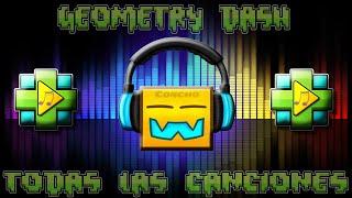 TODAS LAS CANCIONES DE GEOMETRY DASH!!