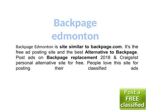Personals replacement craigslist edmonton Where To