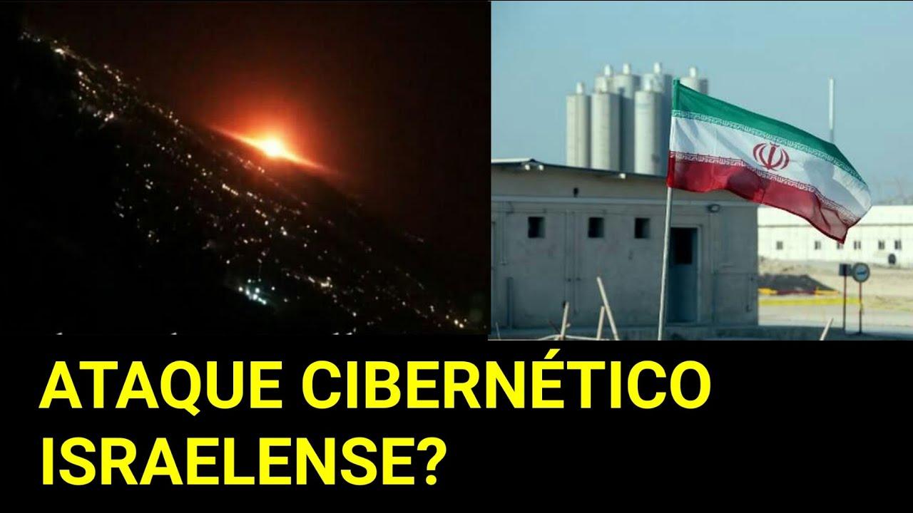 Uma grave explosão danificou parte da usina nuclear do Irã