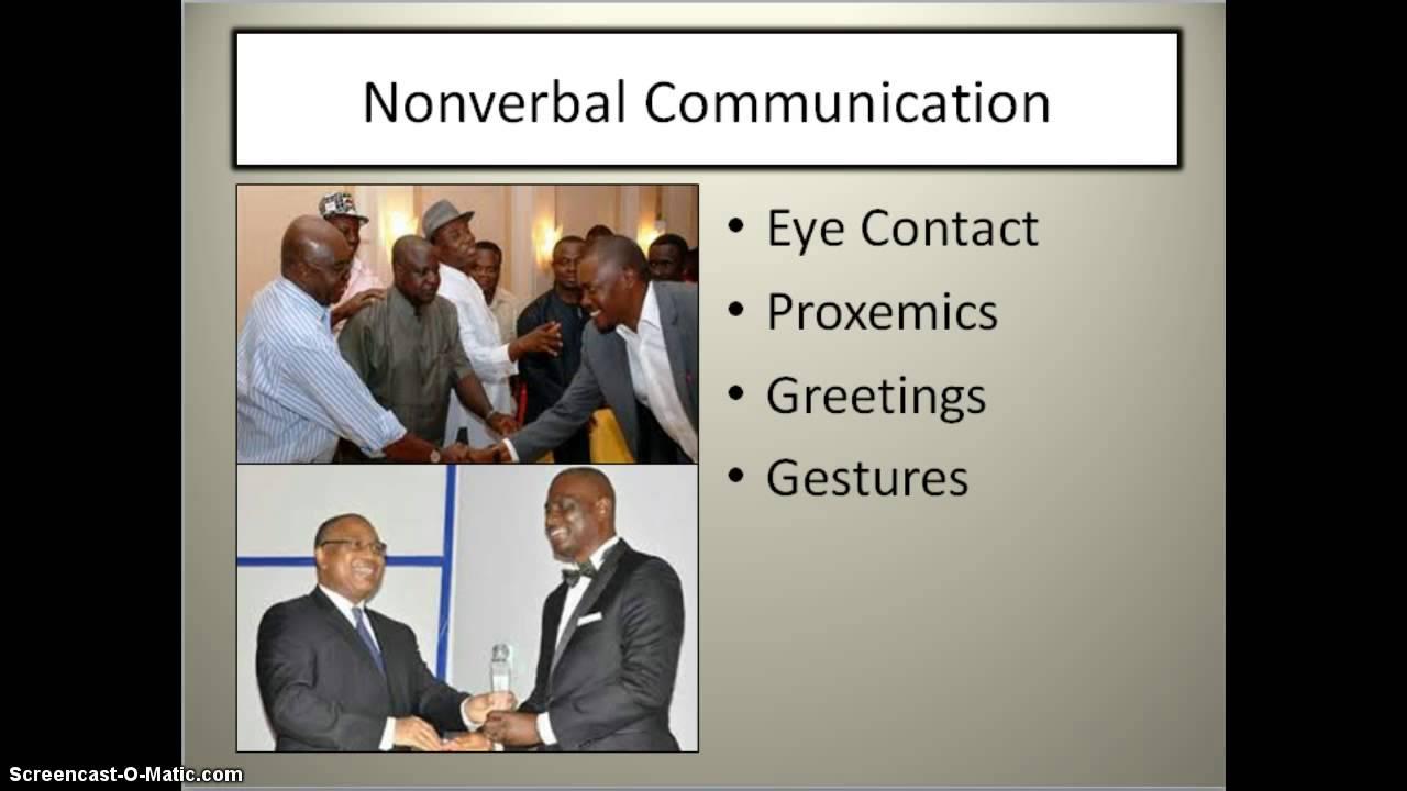 Nigerian Communication Styles Youtube