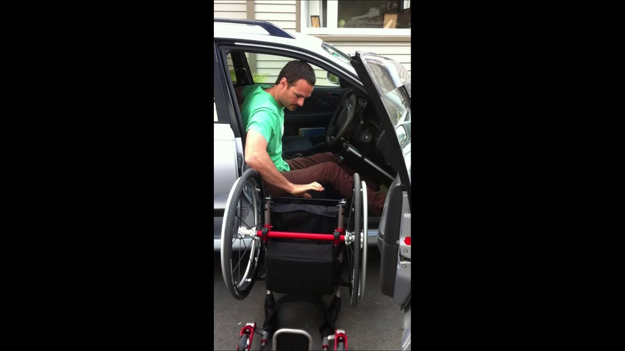 Paraplegic Wheelchair To Car Transfer Complete With Chair