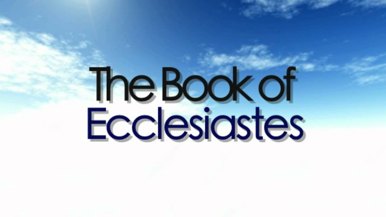 The Bible: Ecclesiastes (Preacher)