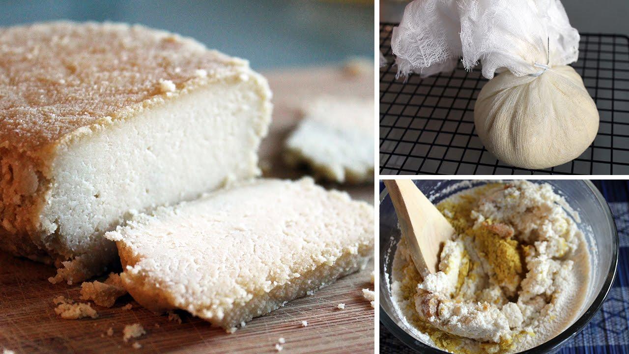 Cultured Almond Cheese - Gruyère Style [ vegan + gluten-free ]