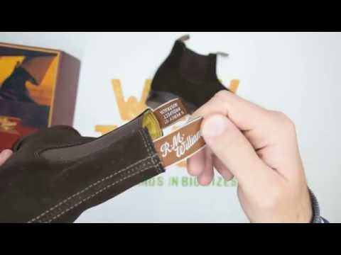 RM Williams Yearling Craftsman Comfort Sole Suede - Chocolate - Unboxing   Walktall