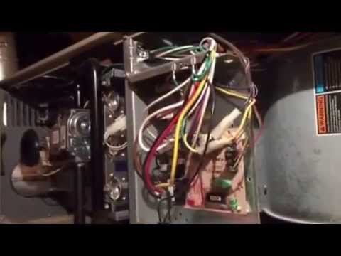 Lennox g40uh furnace issues - YouTube
