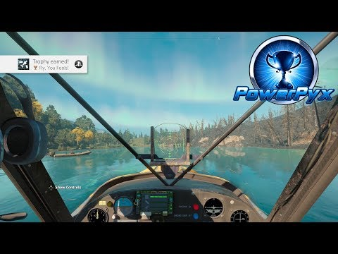 Far Cry New Dawn – Fly, You Fools! Trophy / Achievement Guide (Fly in Wingless Plane)