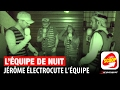 Jérôme électrocute l'équipe chez iCombat
