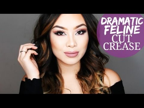 Dramatic Feline Cut Crease (Ft. Carli Bybel & Colourpop) | Diana Quach thumbnail