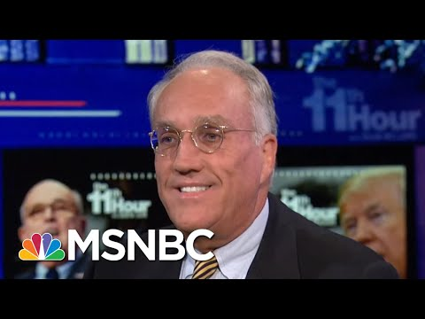 Rudy Giuliani Says Donald Trump May Prep For Mueller Interview While Golfing | The 11th Hour | MSNBC