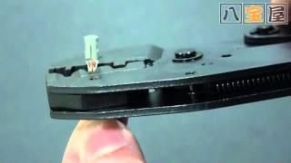 ギボシ端子用 圧着ペンチ 品番:TOL-0032 (JTC-5616 OEM) thumbnail
