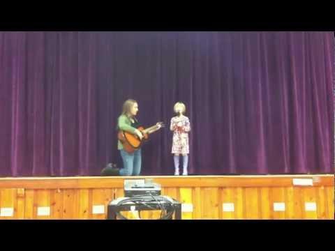 Annamarie Rocks The Makefield Elementary School Talent Show