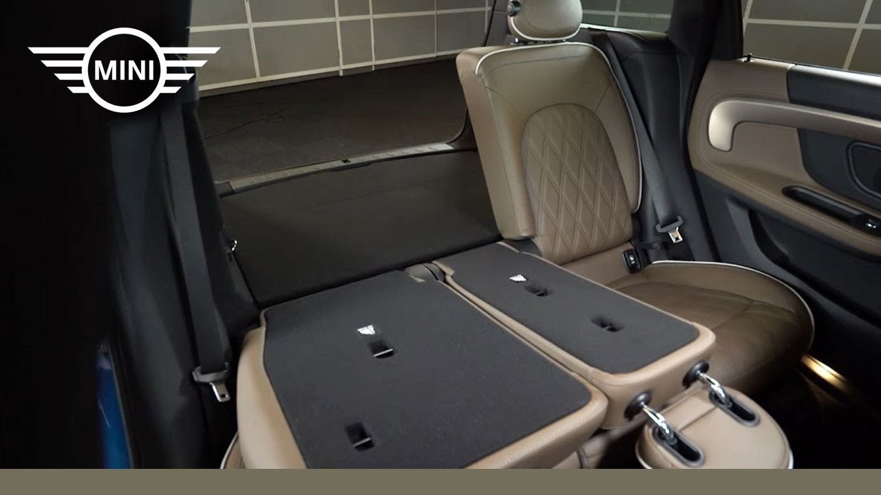 Mini Usa Countryman Rear Seats