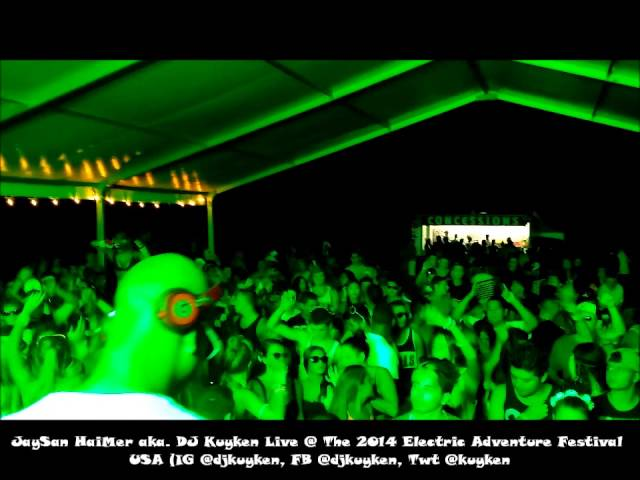 JaySan HaiMer aka DJ Kuyken @ 2014 Electric Adventure NY/NJ USA