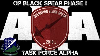 Gambar cover Operation Black Spear - Phase 1 - TF Alpha - Commanding - ArmA 3 Gameplay