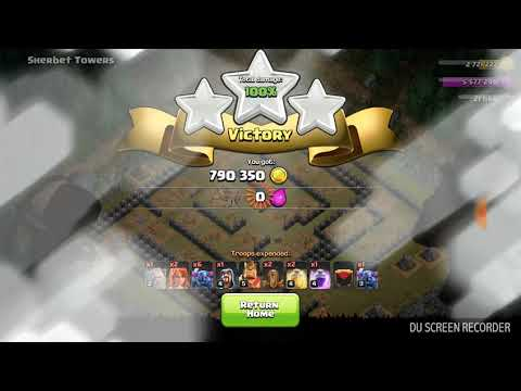 Single Player, Goblin Base is last level attack, Sherbet Towers