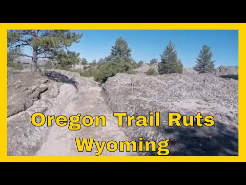 5-11-15 - Day 13 - Oregon Trail Ruts