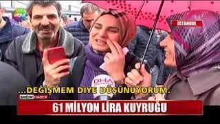 61 Milyon Lira kuyruğu