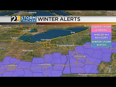 """Several Snow Chances This Week: Eric's """"Weather For Weather Geeks"""" February 8"""