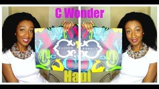 C Wonder Haul
