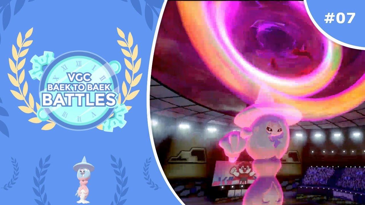 Hard Trick Room Mirror Pokemon Sword Shield Vgc 2020 Baek To Baek Battles Episode 7