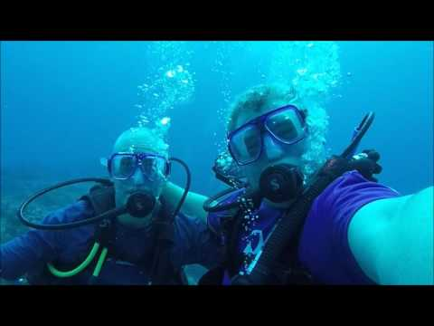 Simmons Family Scuba Diving in Cozumel Mexico