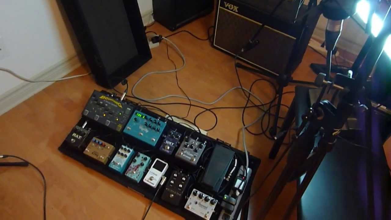 Ambient Guitar Pedals : gear for ambient guitar pedals pedalboard amp guitars youtube ~ Russianpoet.info Haus und Dekorationen