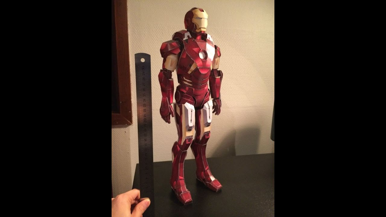 Papercraft Iron Man Mark VII Paper Model (Papercraft)