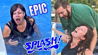 Throwing Heel Wife in the Pool - She deserved it
