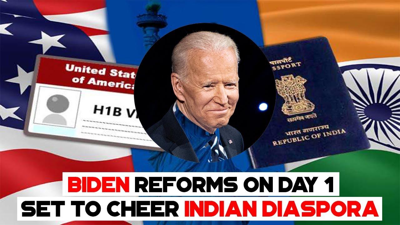 Biden Reforms On Day 1 Set To Cheer Indian Diaspora