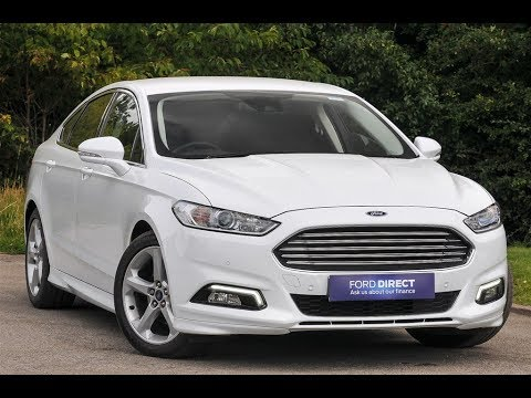 used ford mondeo 2 0 tdci 180 titanium 5dr frozen white. Black Bedroom Furniture Sets. Home Design Ideas